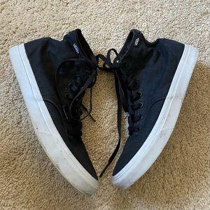 Vans dark gray high top sneakers size 7.5 women
